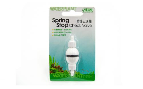 Spring Stop Aquarium CO2 Check Valve
